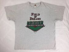 Vtg 90s Mens Field Of Dreams Sz XL FOTL T Shirt & VHS Video Cassette Tape