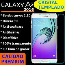 CRISTAL TEMPLADO PROTECTOR DE PANTALLA 0.3MM PARA SAMSUNG GALAXY A3 2016 9H 2.5D