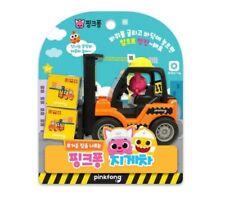 Pinkfong Baby Shark Mini Heavy Vehicle Equipment Fork Lift Truck Car Toy Gift