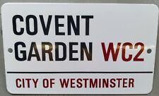 COVENT GARDEN WC2, LONDON, HEAVY-DUTY METAL SIGN,21x13cm