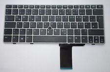 Tastatur hp EliteBook 2560P 2570p Keyboard deutsch mit silber Rahmen QWERTZ