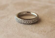 Gelin Abaci- Pave Diamond Wedding Band / Ring - Platinum- .80 cts.
