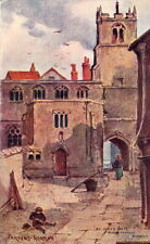 PARSONS NORMAN :Norwich -St John's Alley,Maddermarket-'ARTIST' series