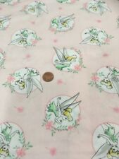 Fée Clochette 100% TISSU COTON couette 85400101vs Disney Camelot tissus