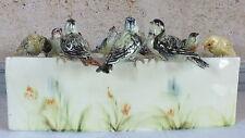 Jerome Massier Vallauris jardinière céramique 10 oiseaux bassin ceramic birds