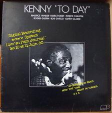 """KENNY CLARKE """"TO DAY"""" LIVE """"AU PETIT JOURNAL"""" JAZZ FRENCH LP"""