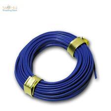 (0,48€/m) 5m Doppio filo 0,14mm² Filo di rame BLU Cavo Cavetto di rame Cavo Rame