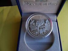 """FRANCIA-2002 1,5 EURO ARGENTO """"MONUMENTI: MONTMARTRE-FONDO SPECCHIO"""