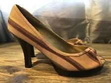 Madden Girl Peep Toe Pump Heels Size 8.5