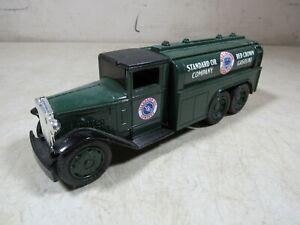 Vintage 1990's Ertl Diecast Standard Oil Red Crown Gas 1930 Diamond Truck Bank