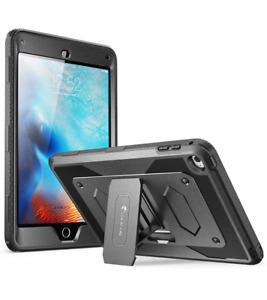 For iPad Mini 4 Case, i-Blason Armorbox Full-Body Tablet Cover +Screen+Kickstand