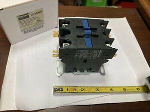 Dayton 6GNW5, 120VAC Definite Purpose Contactor, 2 Pole, 63A, 50/60 Hz