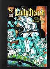 Lady Death The Crucible 1/2 1996 f-vf signed Brian Pulido Mid-Ohio Con