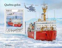 Mozambique - 2019 Icebreaker Ships - Stamp Souvenir Sheet - MOZ190316b