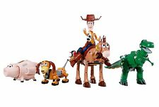 NEW!! BANDAI Chogokin Toy Story Woody Robo Sheriff Star About 230mm from JAPAN