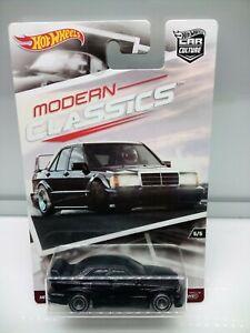 Hot Wheels Modern Classics / Mercedes Benz 190E 2.5 Evo II - Black - Model Car