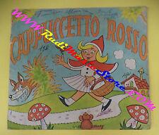 book libro CAPPUCCETTO ROSSO collana arlecchino ARISTAMPA BREVEGLIERI (L16)