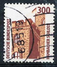 BRD 1988, Fm Sehenswürdigkeiten 300 Pfg., Rollenmarke m. Nr., gestempelt