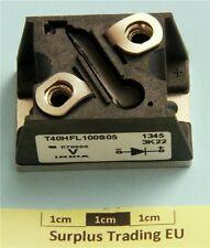 VISHAY T40HFL100S05, Diodo raddrizzatore veloce, la commutazione 40A 1000V 500ns, 2-Pin, T-M