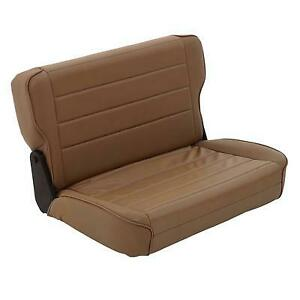 Smittybilt Fold and Tumble Rear Seat (Spice) - 41317