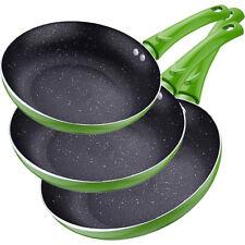 Renberg Molen Green set de sartenes aluminio verde 28 cm 3 unidades