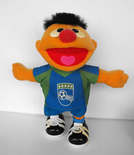 RARE Sesame Street  Ernie as soccer player talks dutch and kicks 2003 MATTEL