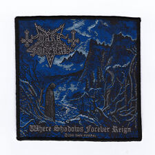 """Dark Funeral """"Where Shadows Forever Reign"""" Official Woven Patch"""