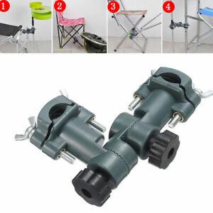 Adjustable Fishing Umbrella Stand Chair Mount Holder Bracket Bait Rod Rack Tool
