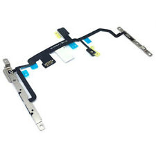 Power / Volume Buttons Flex Cable  & Mute Switch With Brackets For iPhone 8 Plus