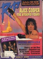 RIP October 1991 Alice Cooper, Temple of The Dog w/ML 011217DBE