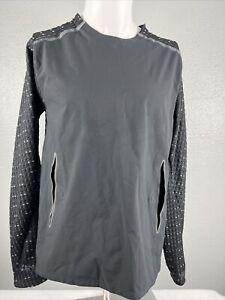 Nike TECH PACK Hybrid KIMONO Reflective LS Woven Running Top BV5683-010 Men's S