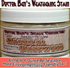 Natural Basswood Weathering Stain-4oz Doctor Ben's Scale Consortium Craftsman