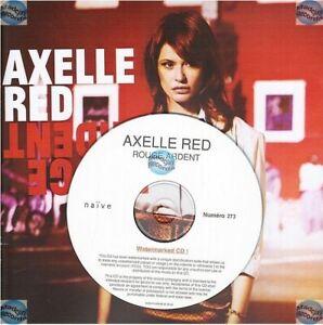 Axelle Red Rouge Ardent Cd Album Promo Format 20x20cm Gerard Manset S. Eicher