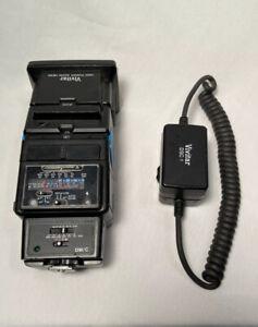 Vivitar 4600 Flash,  Auto Thyristor , DSC-1 Dedicated Sender Chord