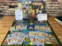 The Simpsons Cluedo The Classic Detective Game Waddingtons Hasbro 100% Complete