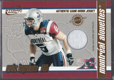 2003 PACIFIC CFL JERSEY CARD ERIC LAPOINTE MONTREAL ALOUETTES