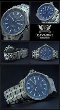 Luxury Cavadini-Massive Titan Aviator Watch Japan Automatic Azure Blue