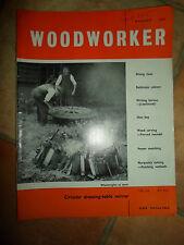 Woodworker August 1962 ~ Retro Vintage Illustrated Magazine + Advertising