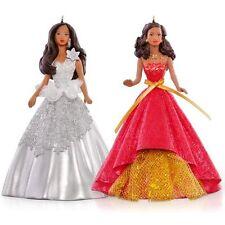 Hallmark Ornament 2015 Celebration Barbie Ornament Set - African-American Ver.