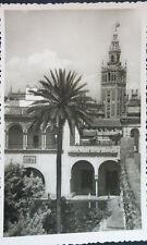 ANTIGUA POSTAL SEVILLA REALES ALCAZARES GALERIAS DEL REY DON PEDRO       CC04027