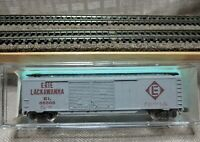 "ATLAS 2337 N Scale 50' AAR Steel Double Door Box Car ""ERIE LACKAWANNA"""