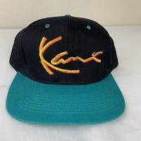 Vintage Karl Kani Hat Snapback Baseball Cap Signature 90s Rap Hip Hop Jeans