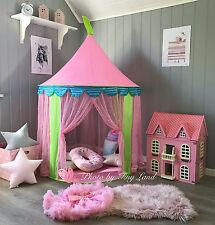 Tente de Jeu Tipi pour Enfants Filles Château de Princesse Cabane Maison Jouet