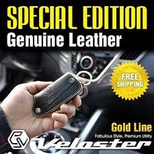 Genuine Leather Smart Key Cover Case Holder for HYUNDAI 2011-2017 Veloster Turbo