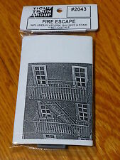 Tichy Train Group #2043 Classic Fire Escape - Kit (Plastic) -- For Use w/up to