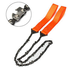 Survival Chain Saw ChainSaw Emergency Camping Garden Hand Tool Pocket Gear AU