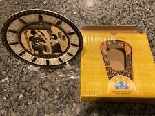 """New listing Fathi Mahmoud 6.5"""" Collectors Plate Made in Egypt Hieroglyphics"""