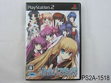 Little Busters Playstation 2 Japanese Import PS2 Converted Edition Japan Key A