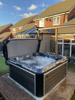 "LUSO SPAS 2021 NEW ""THE 7000""  LUXURY HOT TUB SPA 5 SEATS BALBOA JAN DELIVERY"