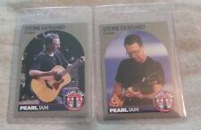 Stone Gossard 2 Cards From 2018 Pearl Jam Set Mint Chicago Wrigley Field